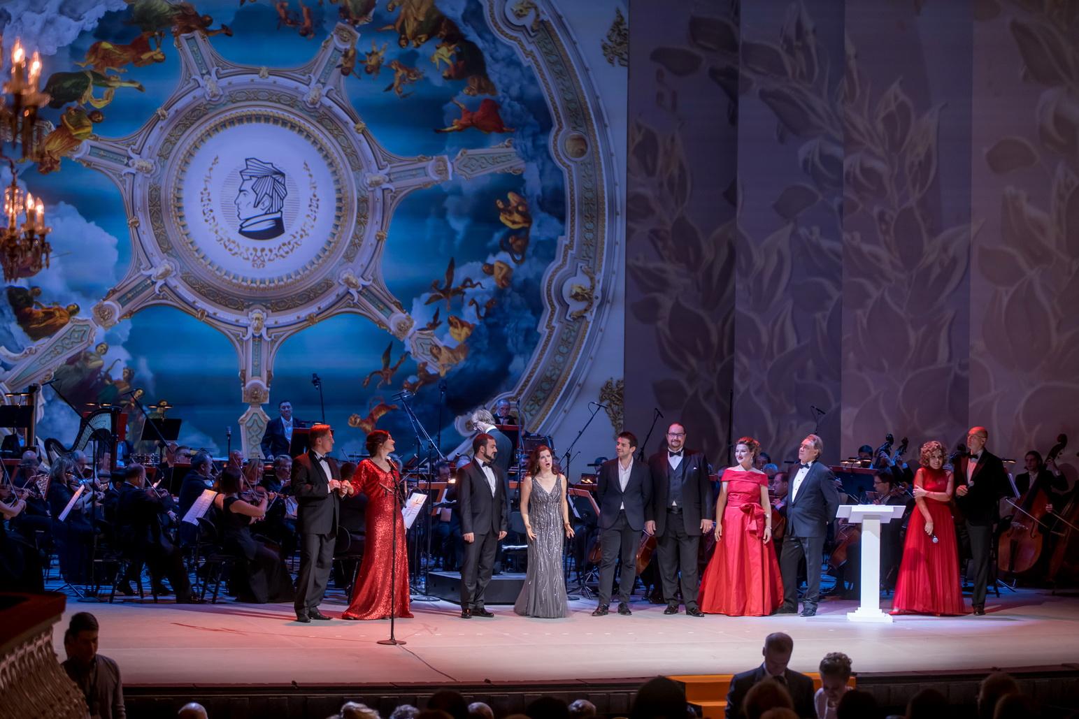 III Национальная оперная премия Онегин, звезды оперы, фото Владимир Убушиев