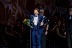 Виктор Коротич, номинация Дебют Мужчины, III премия Онегин, фото Владимир Убушиев